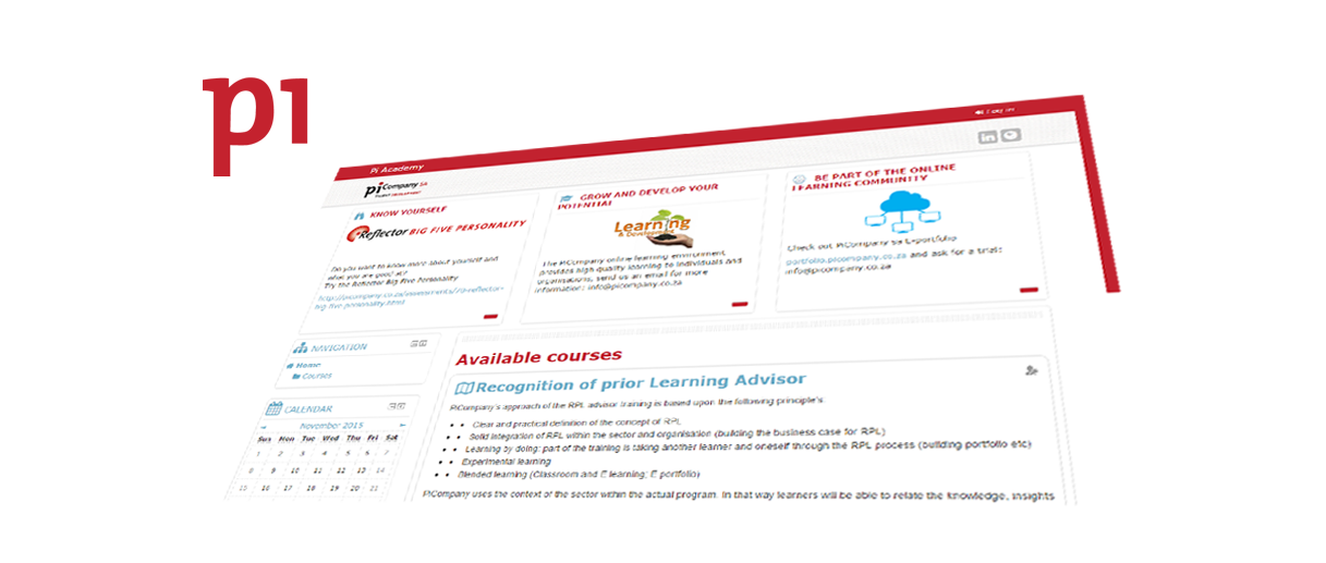 Pi Academy. E-learning voor Talent Development.