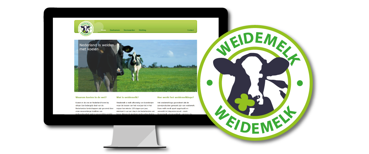 Website Weidemelk